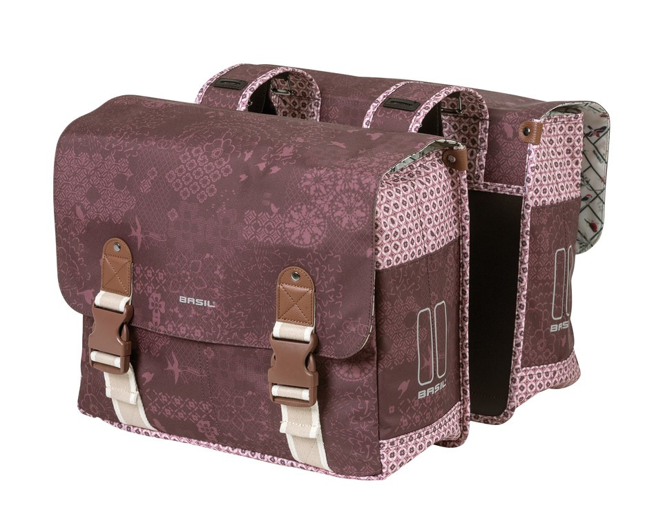 Boheme double bag fig red