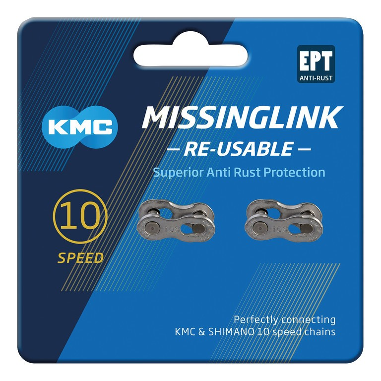 MissingLink locking link for chains 5.88mm, 10-speed silver